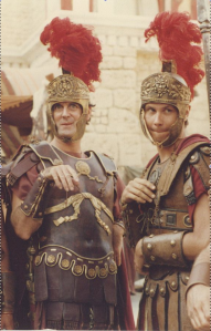 "John Cleese, Kim ""Howard"" Johnson, Monty Python, Life of Brian"