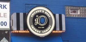 io Old sign